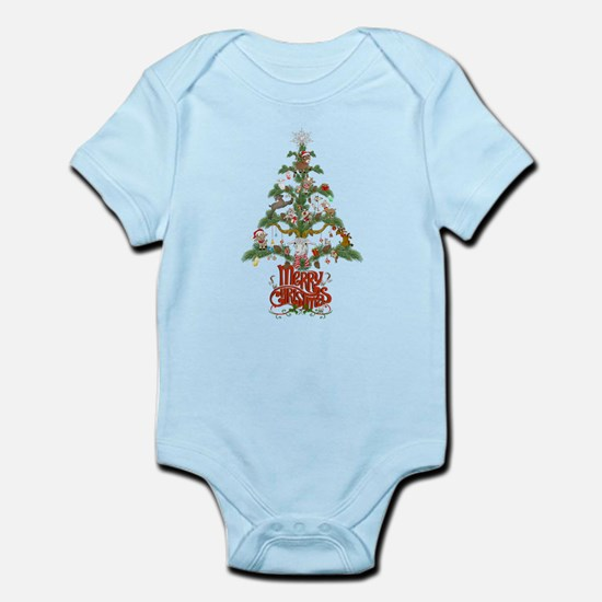 GOAT LOVERS CHRISTMAS TREE Body Suit