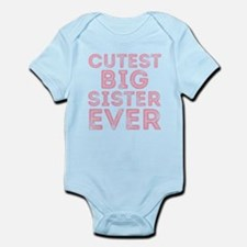 Cutest Big Sister Body Suit