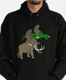 Bigfoot Race Hoodie (dark)