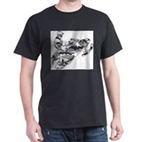 Snowmobile Mens Classic Dark T-Shirts