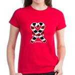 Candycanes Women's Dark T-Shirt