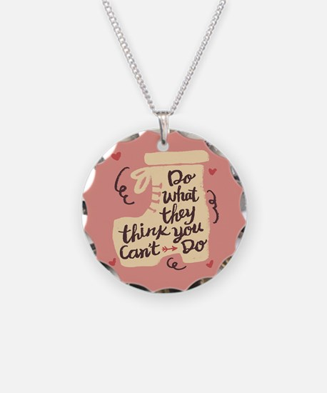 Inspirational Positive Messa Necklace