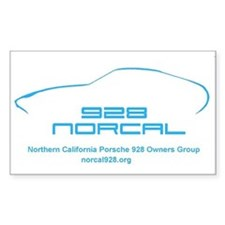 Norcal928.org Rectangle Decal