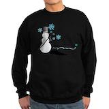 Christmas hockey Sweatshirt (dark)