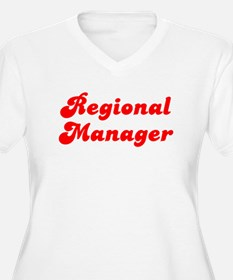 Retro Regional Ma.. (Red) Plus Size T-Shirt
