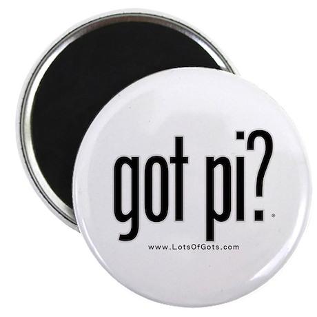 """got pi? 2.25"""" Magnet (100 pack)"""
