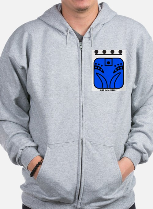BLUE Solar MONKEY Sweatshirt