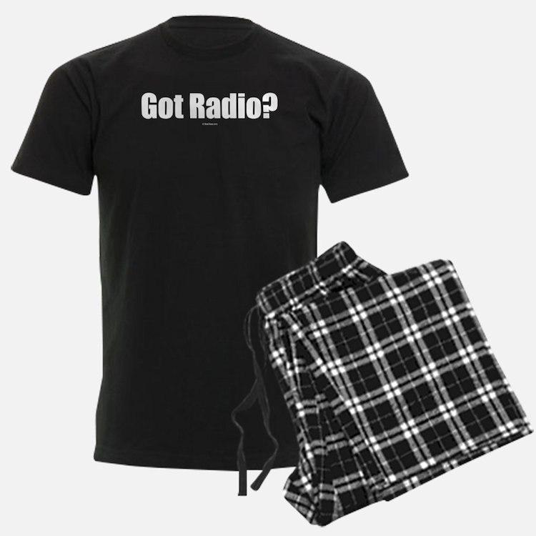 got_radio_on_black Pajamas