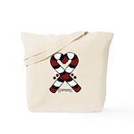 Candycanes Tote Bag