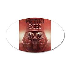 Metro 2035 Main Wall Sticker