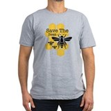 Bee Fitted T-shirts (Dark)