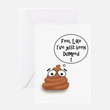Funny Fossil Greeting Card