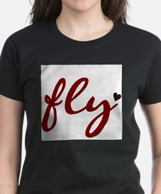 Fly Women's Pink T-Shirt