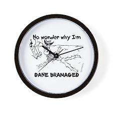 CH Dane Bramaged Wall Clock