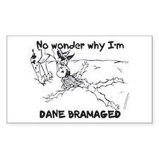 CH Dane Bramaged Rectangle Decal