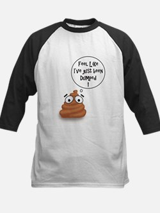 Poop - Just Dumped Baseball Jersey