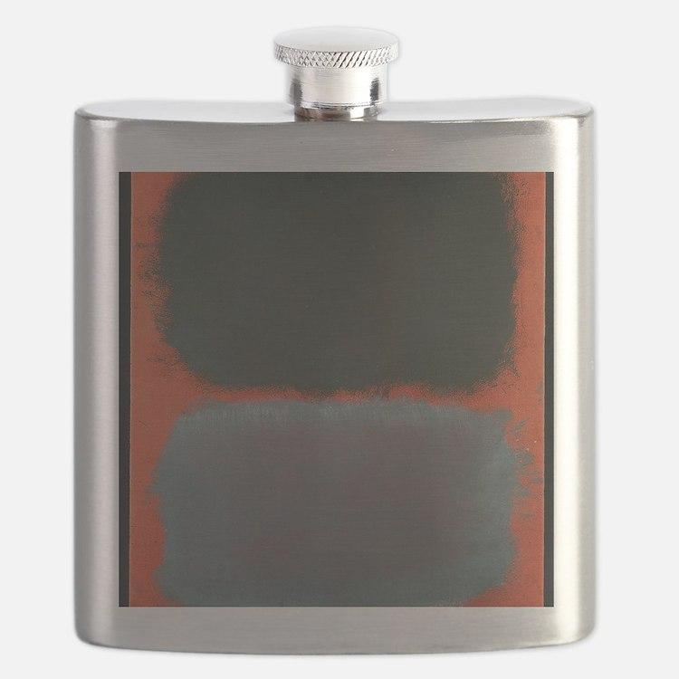 ROTHKO SHADES OF GREY AND ORANGE Flask
