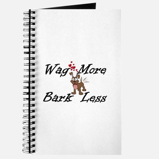 Wag More Bark Less Journal