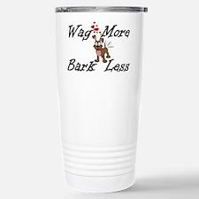 Wag More Bark Less Travel Mug