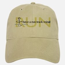 Run track mind runner Baseball Baseball Cap