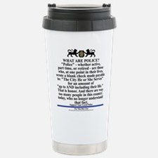 Support your local poli Stainless Steel Travel Mug