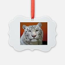 Unique White tiger Ornament