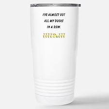 Unique Sorority row Travel Mug