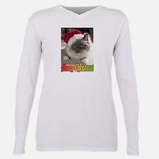 Ragdoll Cat at Xmas.jpg T-Shirt