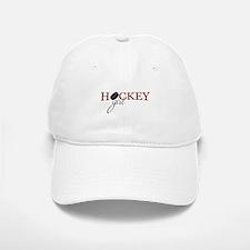 Hockey Girl Baseball Baseball Cap