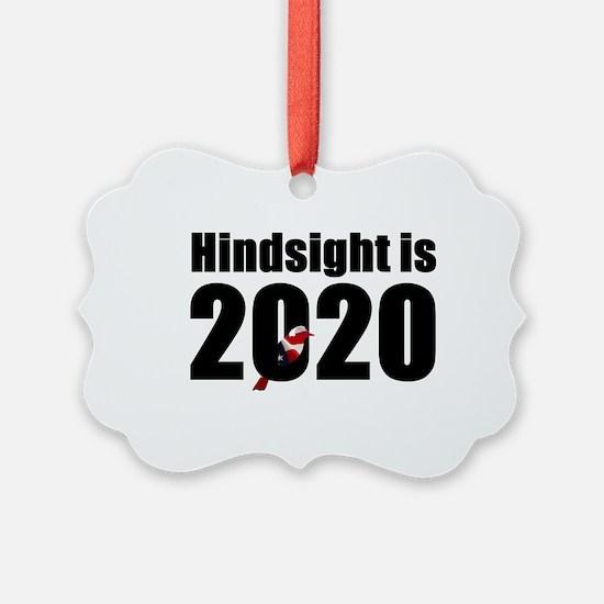 Hindsight is 2020 - Bernie Bird Ornament