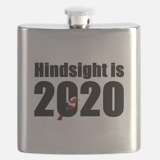 Hindsight is 2020 - Bernie Bird Flask