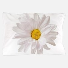 Daisy Flower White Yellow Daisies Flor Pillow Case
