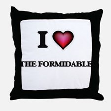 I love The Formidable Throw Pillow