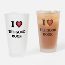 I love The Good Book Drinking Glass