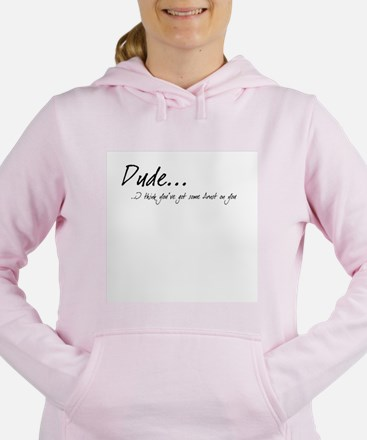 Dude_whitetee Sweatshirt