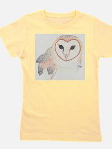 Barn owl Girl's Tee
