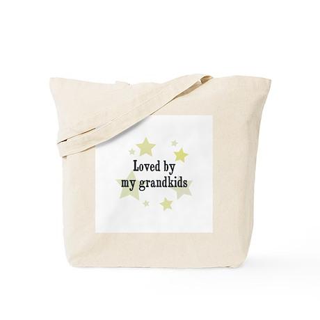 Loved by my grandkids Tote Bag