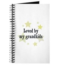 Loved by my grandkids Journal