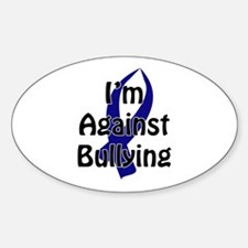 Anti-Bullying Blue Ribbon Decal