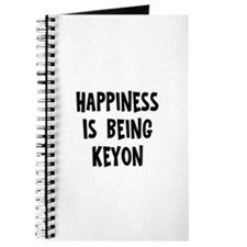 Happiness is being Keyon Journal