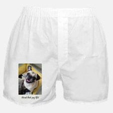About that pug life! 1 Boxer Shorts