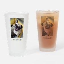 About that pug life! 1 Drinking Glass
