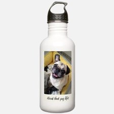 About that pug life! 1 Water Bottle