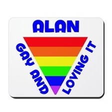 Alan Gay Pride (#005) Mousepad