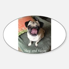 Pugs and Kisses 2 Decal