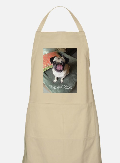 Pugs and Kisses 2 Apron