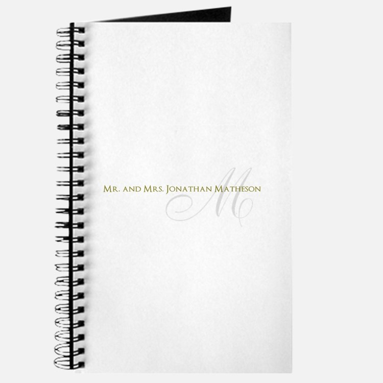 Name and Monogram Design Journal