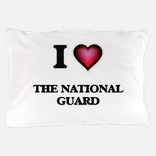 I love The National Guard Pillow Case