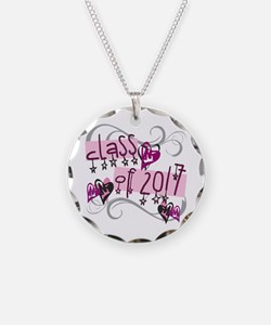 Class of 2017 Funky Stars Necklace