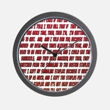 Office Space Milton Wall Clock